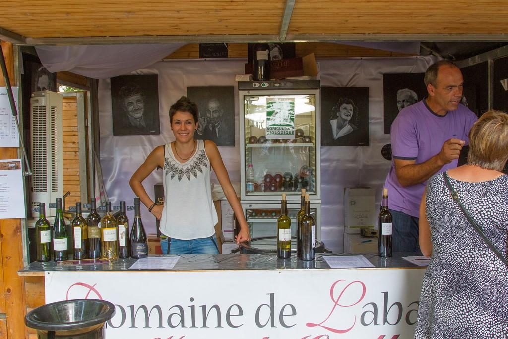 Fête des vins Gaillac 2014 Domaine de Labarthe