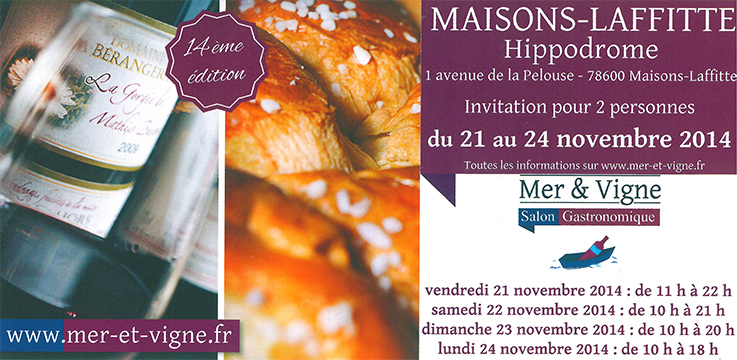Invitations Maison-laffitte