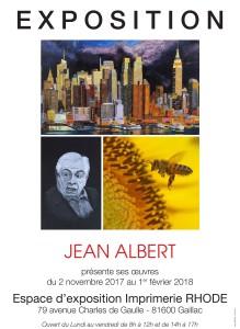 Exposition Jean ALBERT à Gaillac